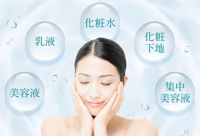 化粧水・美容液・乳液・化粧下地・集中美容液